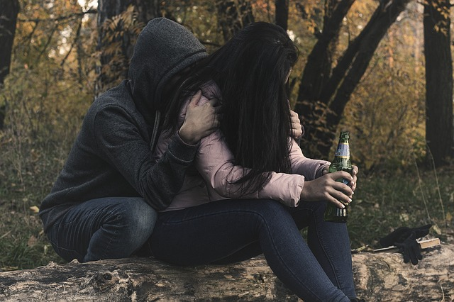 Escaping an Abusive Relationship with Alcohol